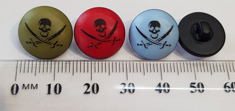 Pirate Novelty 15mm button