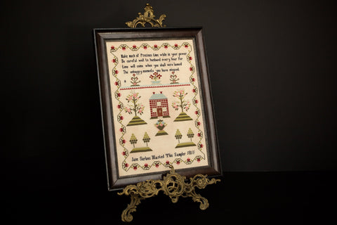 Jane Surtees 1811 - Reproduction Sampler