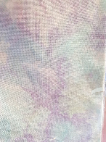 Hand Dyed Fabric - 32 count 'Starlet' 70 x 50cm