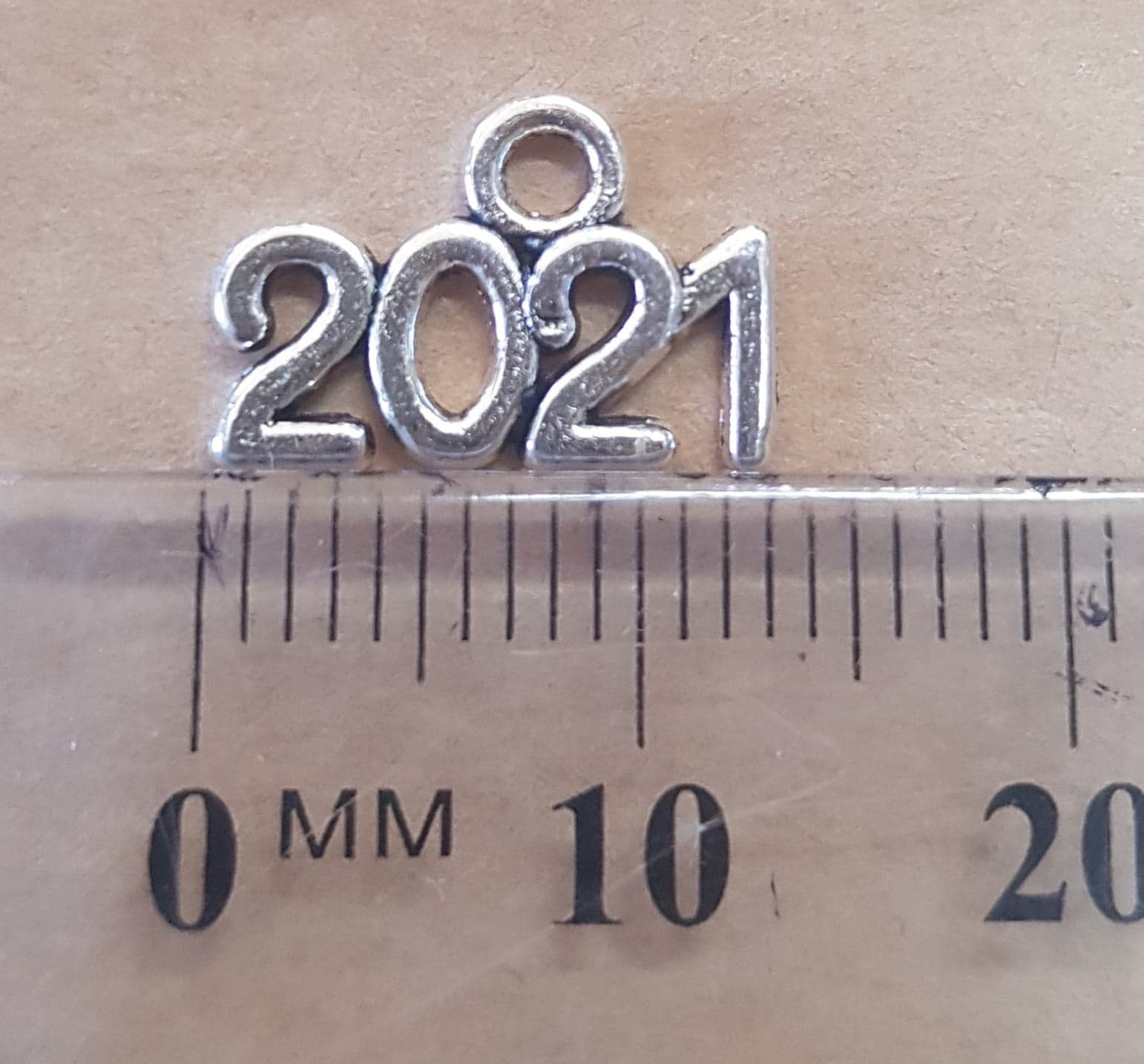 Year Charms - 13mm