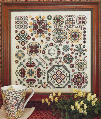 Round and Round - Cross Stitch Pattern