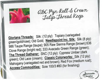 ABC Pyn Roll & Crown Tulip Thread Keep