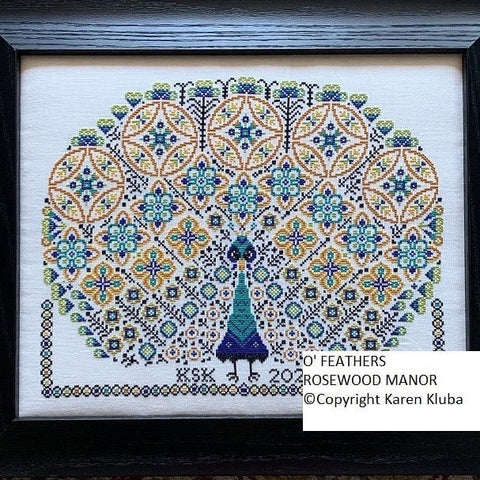 O'Feathers - Cross Stitch Pattern & Sulky Petites