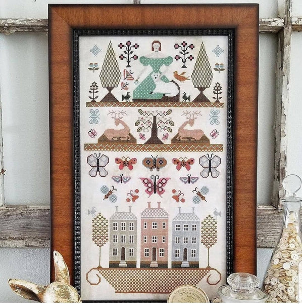 Pieces of Olde - Cross Stitch Pattern