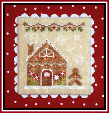 Gingerbread Village #04 -Gingerbread House 2