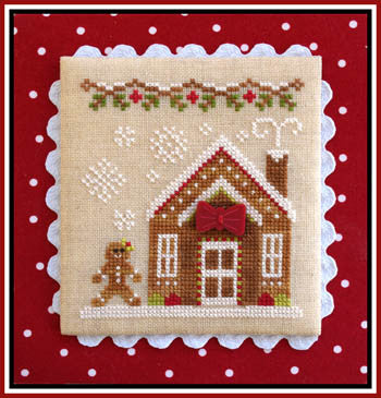 Gingerbread Village #05 -Gingerbread House 3