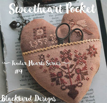 Sweetheart Pocket - Cross Stitch Pattern