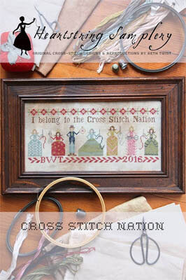 Cross Stitch Nation- Cross Stitch Pattern