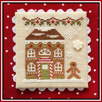Gingerbread Village #11 -Gingerbread House 8