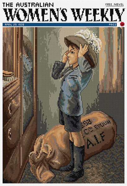 Young Soldier - Cross Stitch Chart