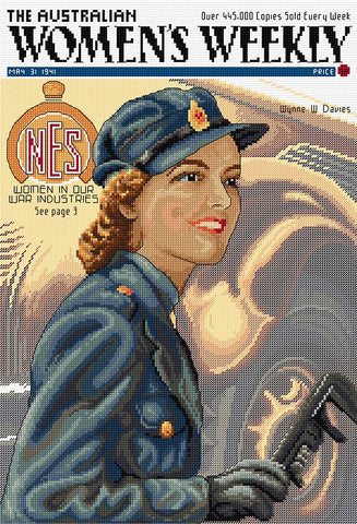 Women in our War Industries - Cross Stitch Chart