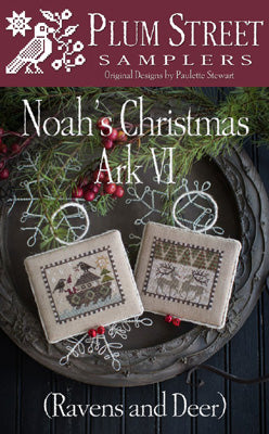Noah's Christmas Ark VI - Ravens and Deer