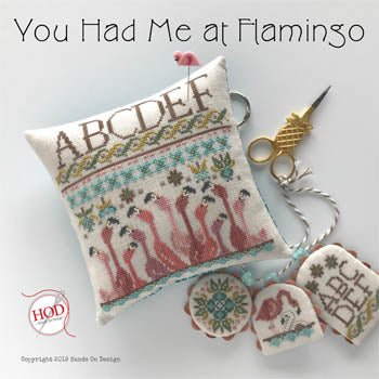 You Had Me at Flamingo - Cross Stitch Pattern