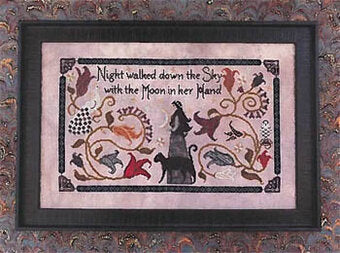 Night Walked Down - Cross Stitch Pattern by The Blue Flower