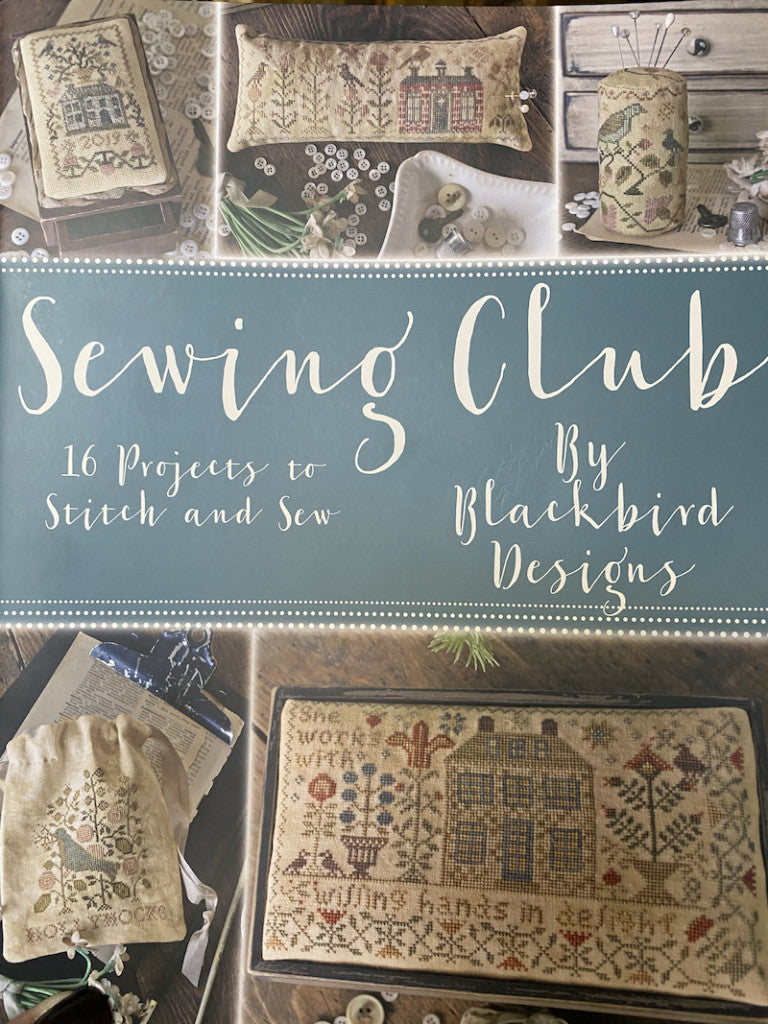 Sewing Club by Blackbird Designs
