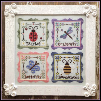 Garden Party - Cross Stitch Pattern
