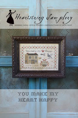 You Make My Heart Happy - Cross Stitch Pattern