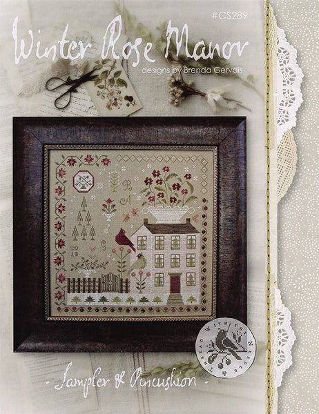 Winter Rose Manor - Cross Stitch Pattern
