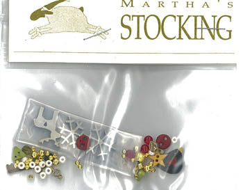 Martha's Stocking - Charm Pack