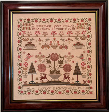Mary Taylor Stackney 1828 - Cross Stitch Pattern