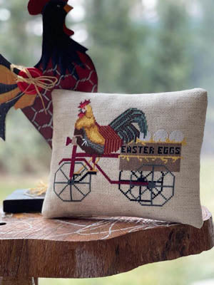 Easter Rooster - Cross Stitch Pattern