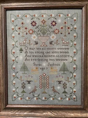Sarah Jackson - Cross Stitch Pattern