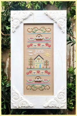 Sampler of the Month - June - Cross Stitch Pattern
