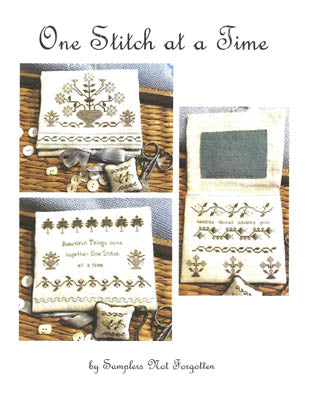 One Stitch at a Time - Cross Stitch Pattern Needlebook