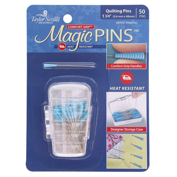Magic Pins for Quilting