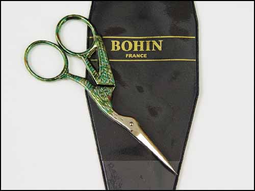 Bohin Stork Embroidery Scissors - large