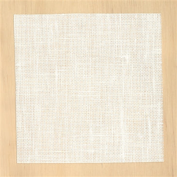 Danish Handcraft Guild 10B/26ct Bleached Linen - 75cm wide