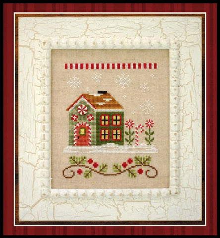 Santa's Village #8 - Candy Cane Cottage