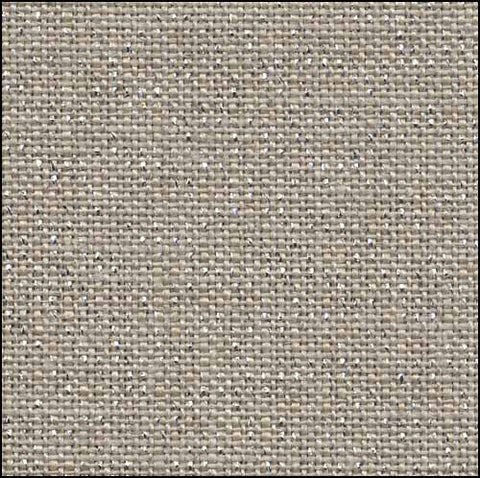 Belfast 32 Count Raw/Silver Linen-140cm wide