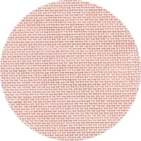 "28 Count ""Touch of Pink"" Linen -70cm wide"