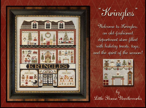 Kringles by Little House Needleworks ~ Including KIT OPTIONS