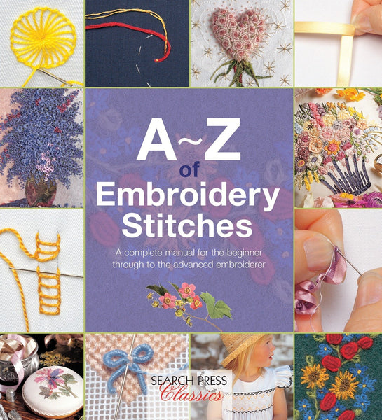 A~Z of Embroidery Stitches