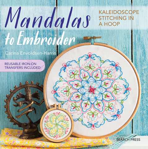 Mandalas to Embroider book