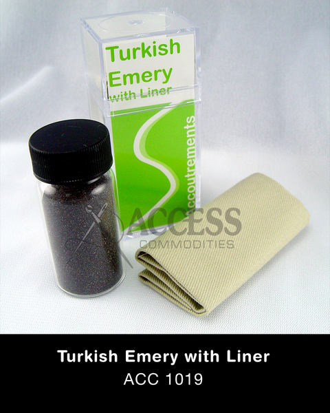 Turkish Emery with Liner