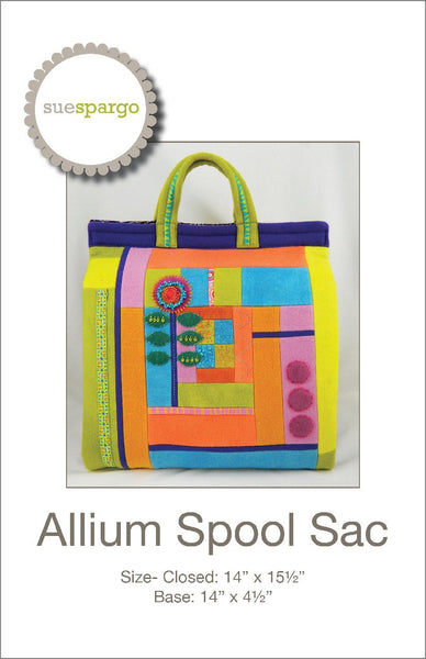 Allium Spool Sac - Pattern