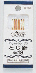 Clover Jap Needles - Tapestry 18 to 24
