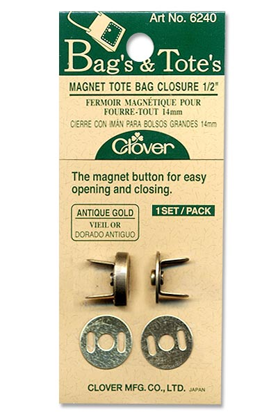 Magnet Tote Bag Closure - 14mm