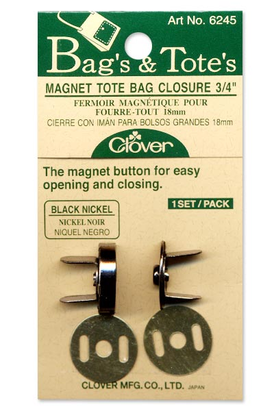 Magnet Tote Bag Closure - 18mm