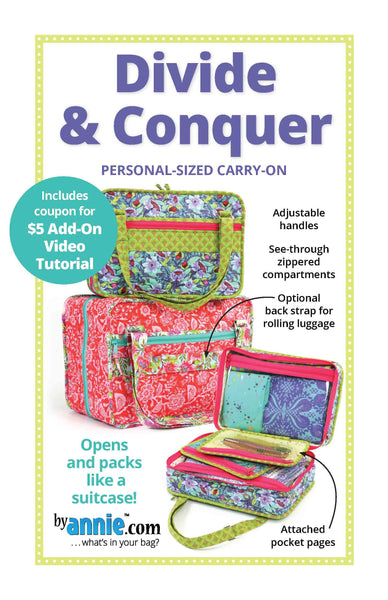 Divide & Conquer - Personal-sized Carry-on