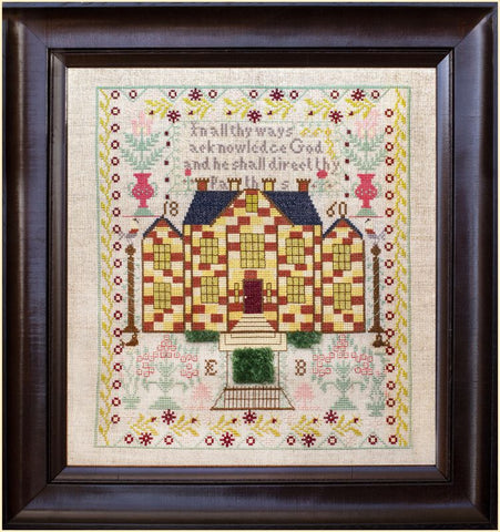 The Chequerboard House – EB 1860- A Little Gem by HATS