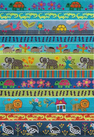 Folk Tails Ribbon Pack by Sue Spargo