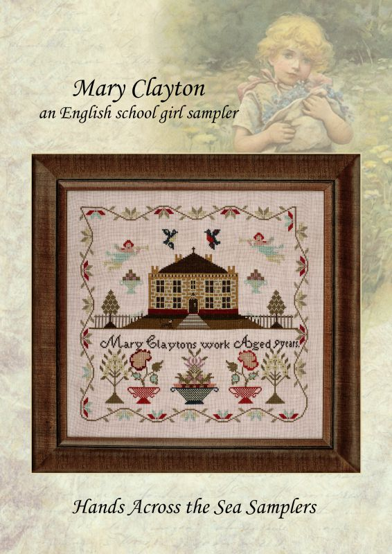 Mary Clayton ~ Reproduction Sampler