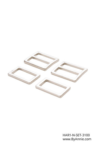 1 inch - Nickel Hardware Set 3100