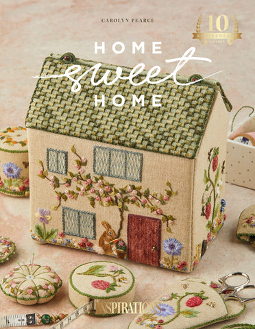 Home Sweet Home - An Embroidered Workbox 10th Anniversary Edition