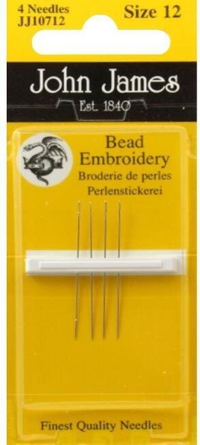 John James Short Beading Tapestry Point Needles