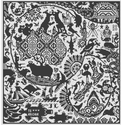 ANZAK - Cross Stitch Pattern